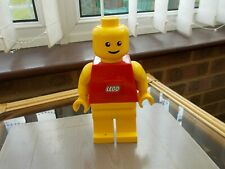"""LEGO MAN TORCH 7"""" ACTION FIGURE WORKING"""