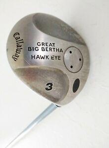 "Callaway Great Big Bertha Hawk Eye 3 Fairway Wood - Ladies Graphite - RH - 43"""