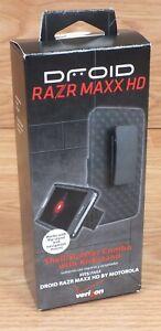 Genuine Verizon Droid Razr Maxx HD Shell / Holster Combo With Kickstand! *READ*