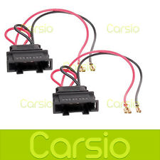 VW Polo 2000 > Speaker Adaptor Plug Leads Cable Connectors Pair PC2-807