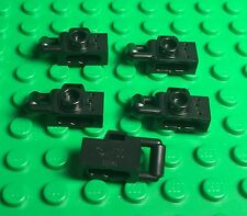Lego X5 New Black Camera / City Modular Mini Figures Utensil Accessory Lot