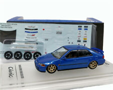 INNO64 1:64 Honda Civic FERIO EG9 Blue Diecast Car