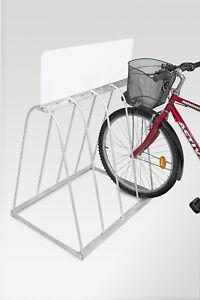 FAHRRADSTÄNDER BERLIN Reihenparker mit Werbefläche, Bike für 4, 5 Fahrrad