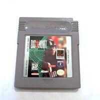 FRANK THOMAS BIG HURT BASEBALL Original Nintendo Gameboy Game TESTED WORKING