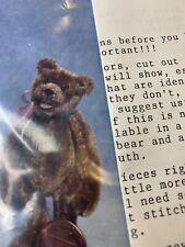 Bear Making Kit Nice Velvet Material From 1990's EVM6