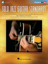 New listing Solo Jazz Guitar Standards : 16 Songs Expertly Arranged in Chord-Melody Style...