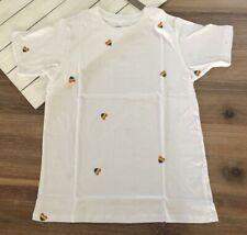 J Crew Women's Rainbow Hearts T Shirt - Ivory - S L XL 2XL - NWT