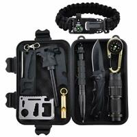 Kepeak Survival Kit Military Tactical Emergency Gear Outdoor Tool Camping Hiking