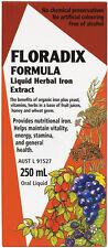 Floradix Formula Liquid Herbal Iron Extract 250ml Oral Liquid Supplement