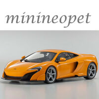 KYOSHO C 09541 P OUSIA MCLAREN 675LT 1/18 DIECAST MODEL CAR ORANGE