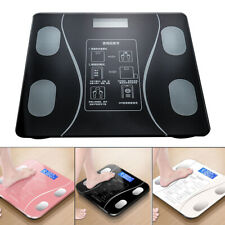 Smart Digital Body Weight Bathroom Scale Fat Fitness BMI + Measuring Tape 180KG