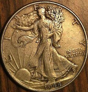 1944 USA SILVER FIFTY 50 CENTS HALF DOLLAR COINS