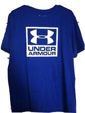 Under Armour Men's Baseball Tee. Sz Large & Royal/blue