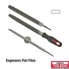 TOLEDO Flat File Second Cut - 150mm 12 Pk 06FL02BU x12