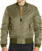 Alpha Industries Military Army MA1 US Air Force Flight Bomber Pilot Slim Jacket