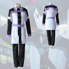 NEW Sword Art Online Ordinal Scale SAO Kirito Cosplay Costume Men L