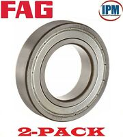 2-PACK! NEW!  FAG 6307-2ZR.C3 Deep Groove Ball Bearing 35x80x21mm Metal Shielded