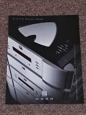 MOON Evolution Series Simaudio - Original Product Brochure