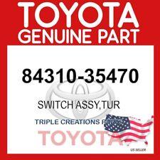 GENUINE Toyota 84310-35470 SWITCH ASSY, TURN SIGNAL 8431035470 OEM