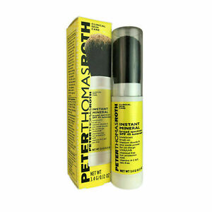Peter Thomas Roth Instant Mineral SPF45 Clinical Skin Care EXP 2022 3.4g