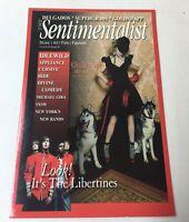 2003 Sentimentalist promo postcard ~ GOLDFRAPP, THE LIBERTINES