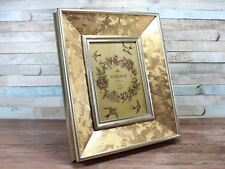 """5X7"""" Gold Patterned Photo Picture Frame Wall Decor"""