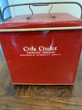 1950's Vintage Cola Cooler Poloron Products Inc. Fiberglass Insulated