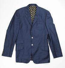 Paul Smith London Mens Navy Blue Wool The Byard Blazer Jacket Size 40 L $1605