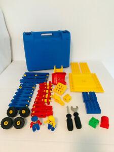 LEGO Duplo ®  Toolo Koffer Verschlüsse intakt (2960) vollständig mit Werkzeug