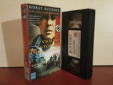 And The Violins Stopped Playing - Horst Bucholz - PAL VHS Video Tape (T89)