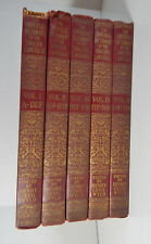 The Universal Dictionary of the English Language- 5 Vol Set,1940 c.1938-39 Wyld