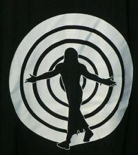 NEW Jeff Hardy Spiral Graphic Men's Black Shirt 2XL RARE HTF OOP
