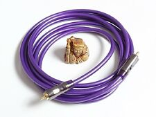 QED Performance Digital Audio Coaxial RCA Interconnect Cable 75 Ohm S/PDIF 1.0 m