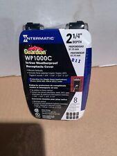 Intermatic WP1000C Guardian Series Single Gang Weatherproof in use Receptacle Co