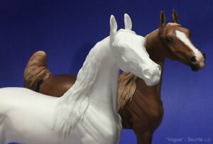 Traditional Size Unpainted Artist Resin Saddlebred Mare, VOGUE