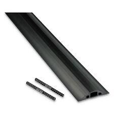 D-LINE Medium-Duty Floor Cable Cover 2 3/4 x 1/2 x 6 ft Black FC68B