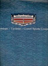 Mercury Comet Montego Cyclone 1969 USA Market Sales Brochure
