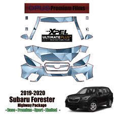 XPEL ULTIMATE Paint Protection Clear Bra kit for Subaru Forester 2019-2020