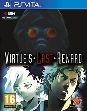 PS VITA Zero Escape - LA VERTU Virtues Last Reward Jeu Pour PLAYSTATION PSV NEUF