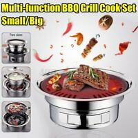 BBQ Barbecue Grill Portable Charcoal Kabob Stove Camping Outdoor Cooking Garden