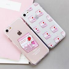 Milk Jelly Case iPhone 8 Case iPhone 8 Plus Case 6 Types Case made in Korea