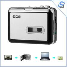 Cassette To MP3 Converter No PC Required 32GB SD Card Support 3.5mm Audio Jack