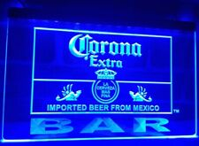 Corona Bar LED Neon Sign Home Light up Pub Bud Beer Lager mexico open lager