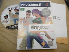 SINGSTAR ORIGINAL COMPLETE PLAYSTATION PS2 PAL A-HA MADONNA ELVIS ORBISON PINK