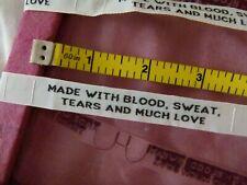 25 etiquetas textil-tamaño 50//56