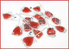 30  x  lollipops Red Heart Shaped Lollies Valentine Wedding Favour  from Sydney