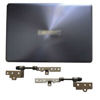 New for ASUS VivoBook X411U X411 X411UF X411UN X411UA LCD Back Cover+Hinges(L+R)