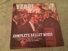 Verdi Complete Ballet Music Antonio De Almeida 2 LP Classical Made in Italy
