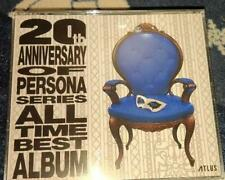 PERSONA 5 20th Anniversary Edition All Time Best Album CD 5 Disc Limited