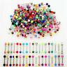 Lotto 30 Piercing Lingua Multicolori 316L Acciaio Chirurgico Plastica Gi ONH